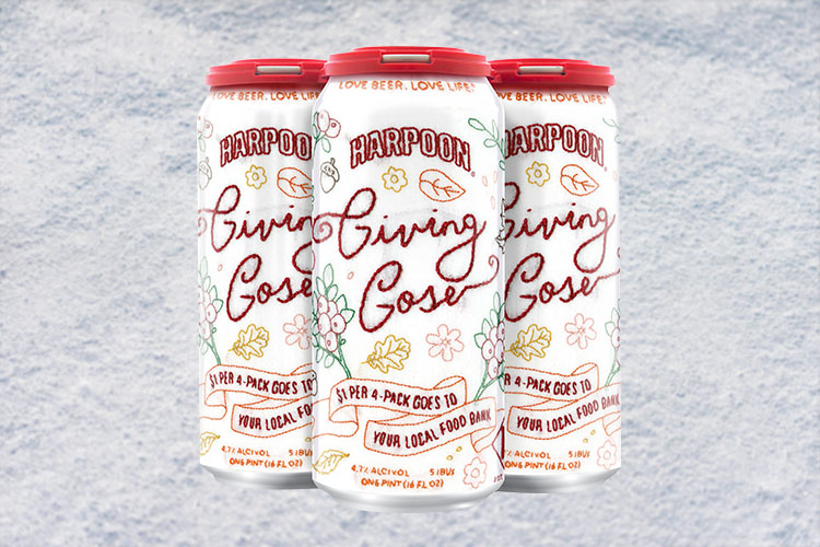 harpoon giving gose christmas beer