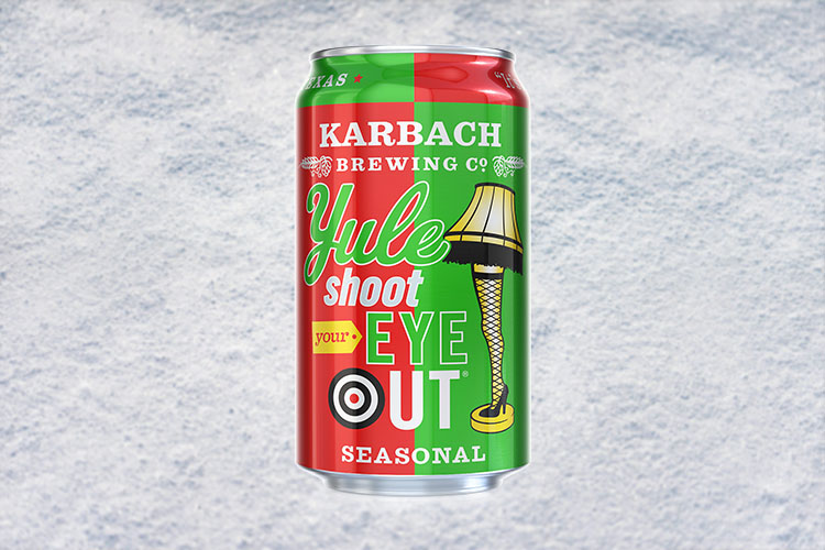karbach yule shoot your eye out christmas beer