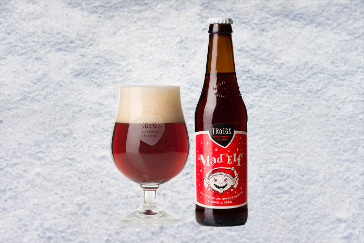 troegd mad elf christmas beer