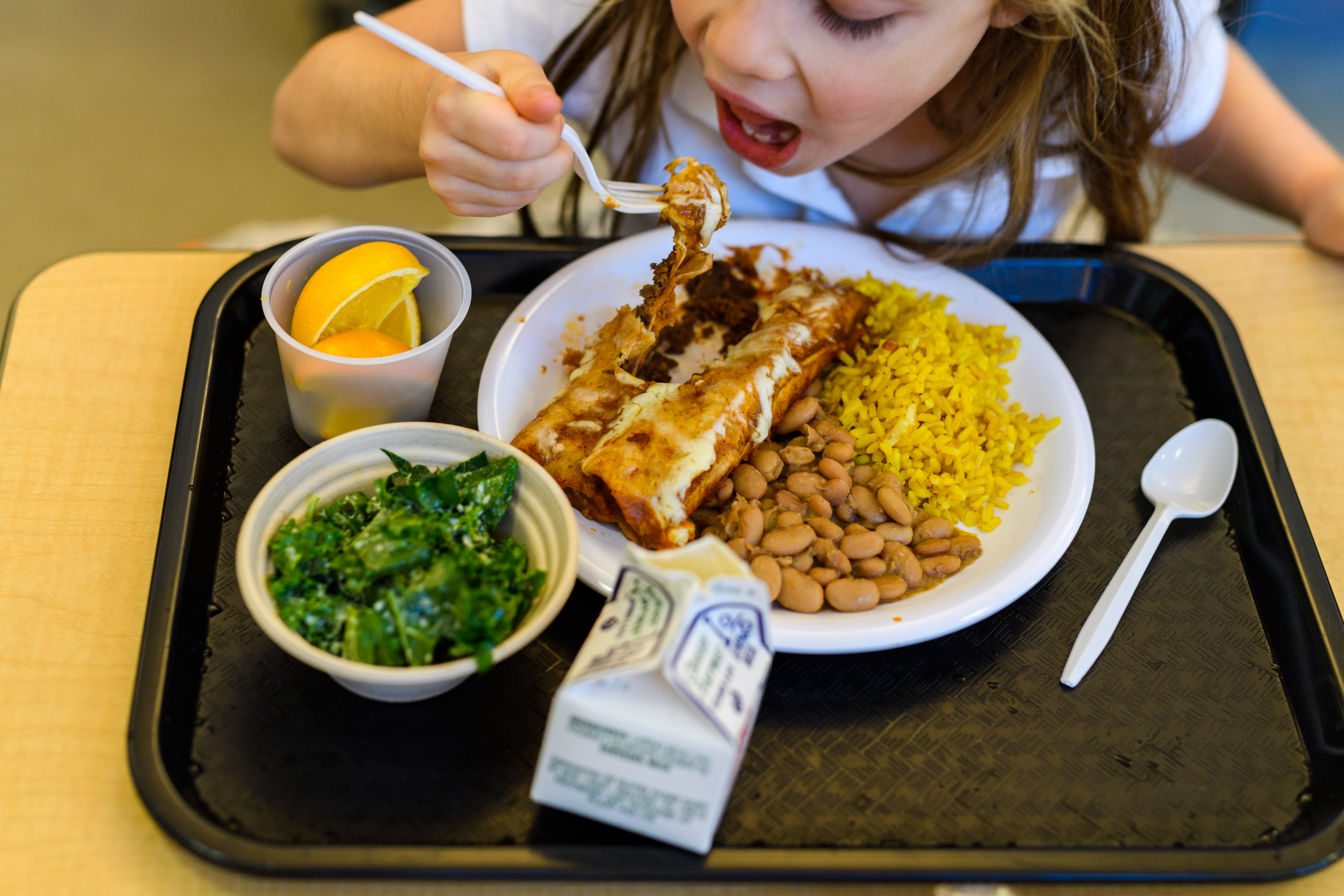 child nutritious school lunch Noma chef Bronx