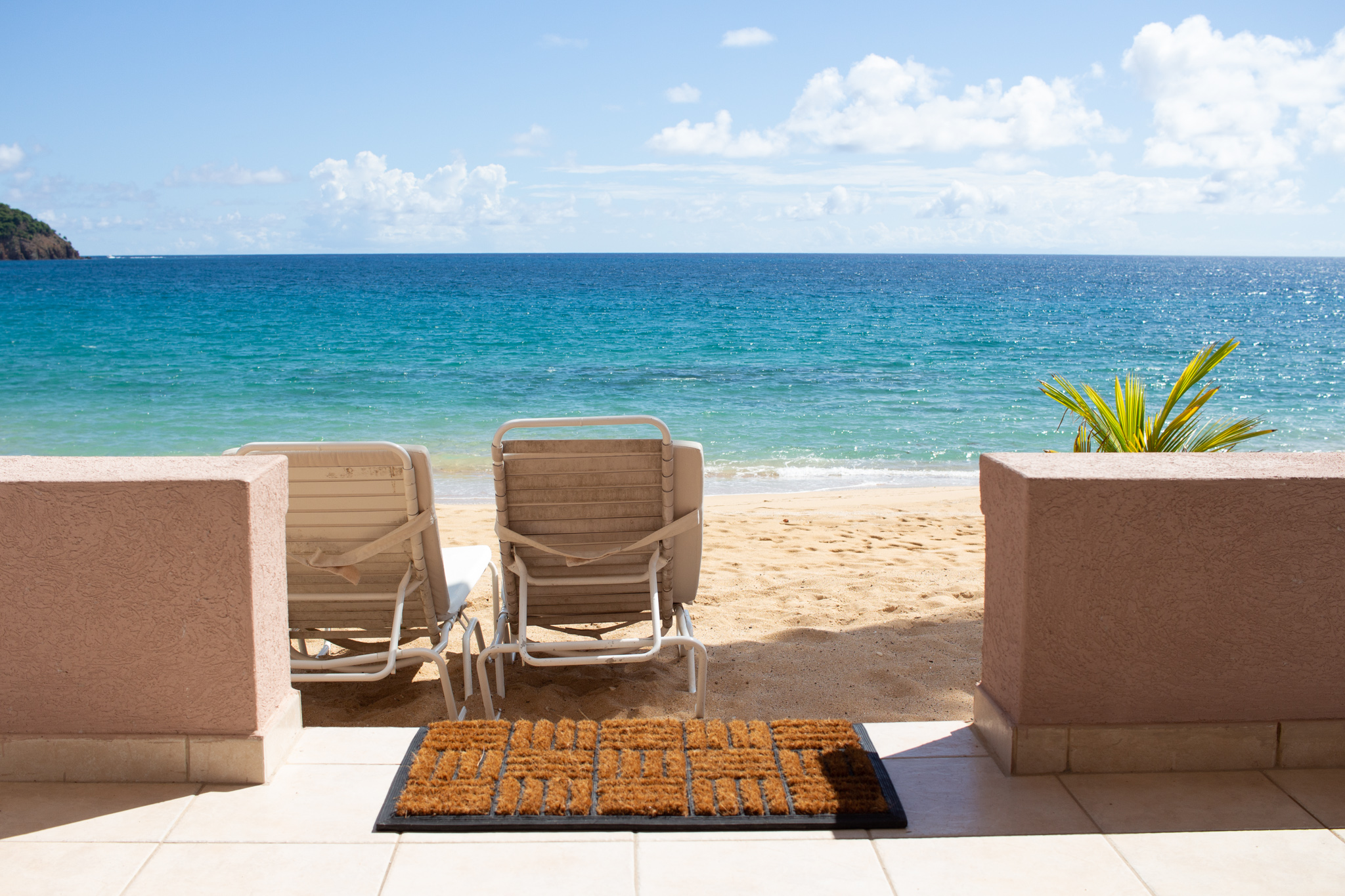 curtain bluff rooms view