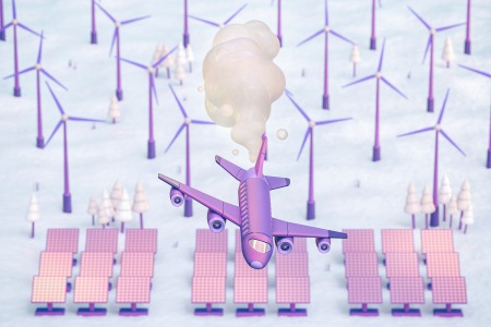 What are carbon offsets for air travel