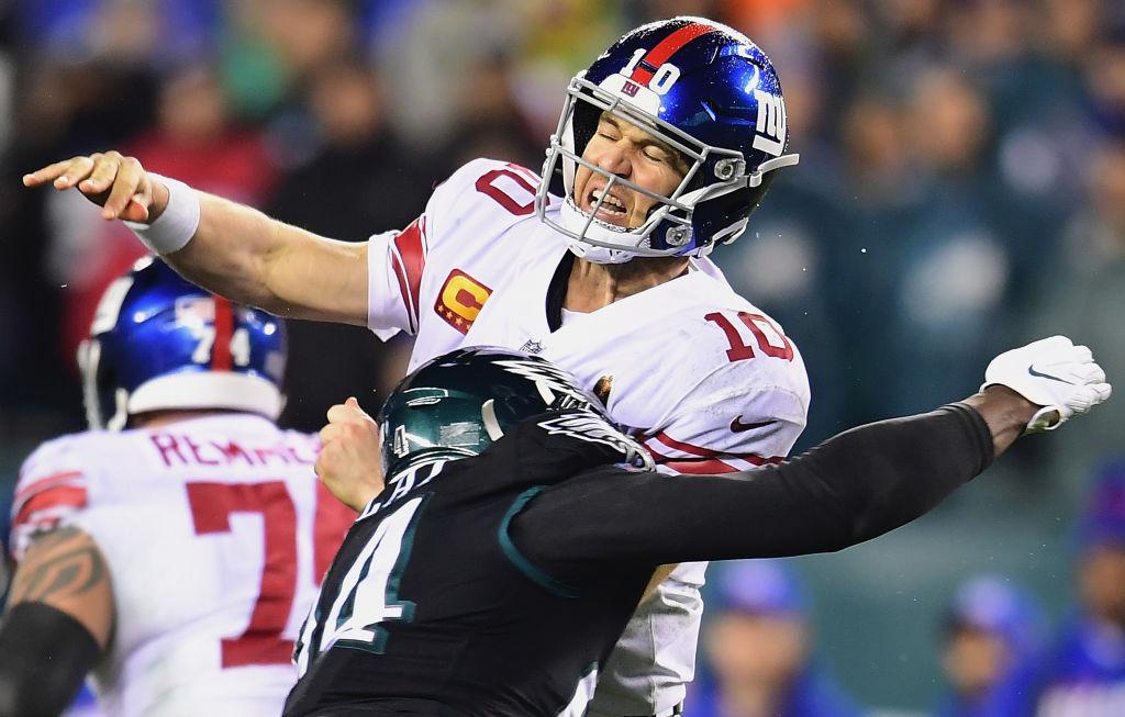 Eagles Spoil Eli Manning's Return with OT Win Over Giants