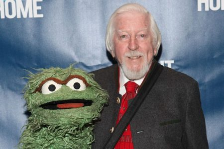 Oscar the Grouch and Caroll Spinney attend Eight Over Eighty 2016 Gala at Mandarin Oriental New York on April 11, 2016 in New York City.  (Photo by Steve Zak Photography/Getty Images)