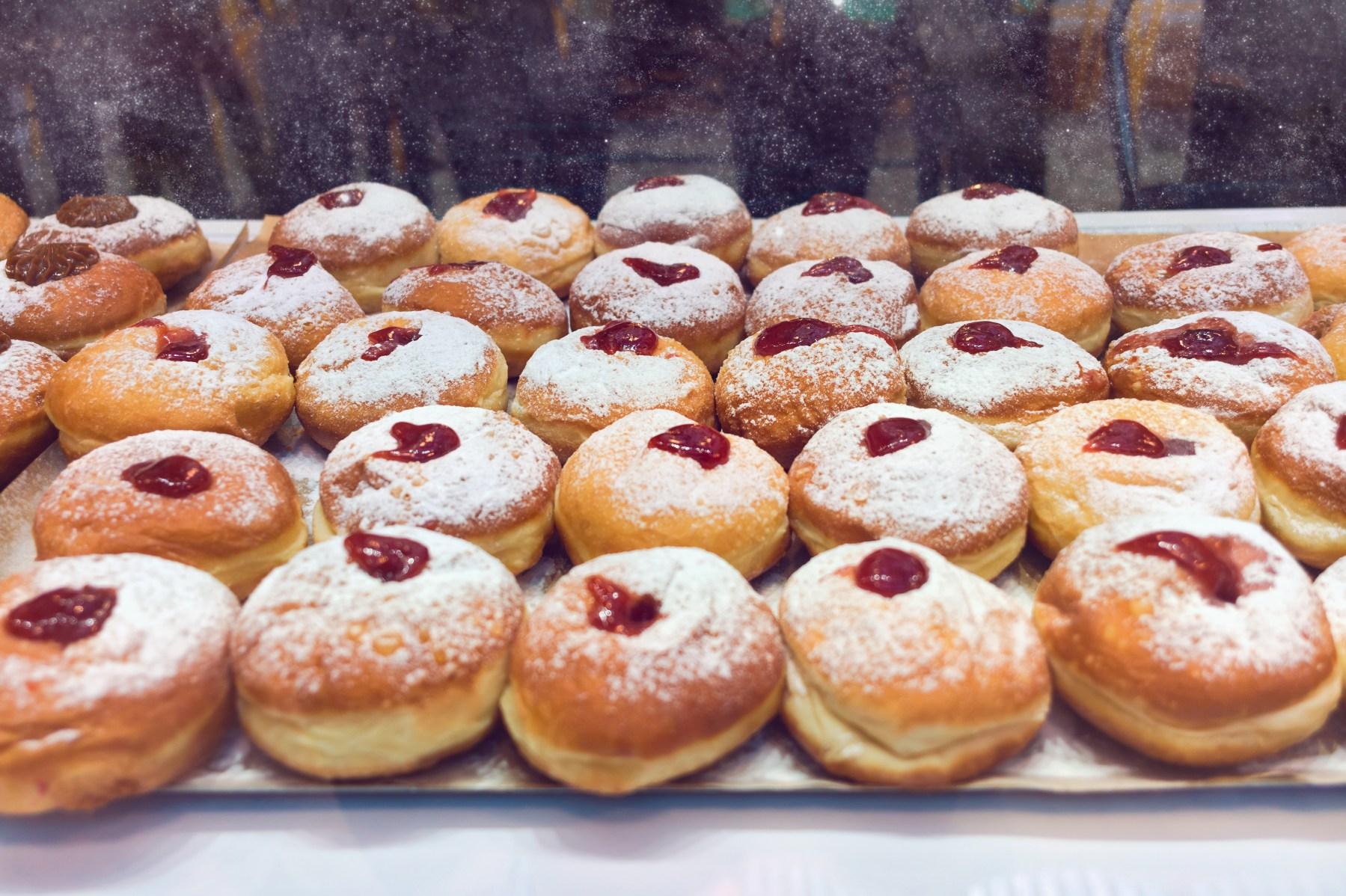 Chanukkah donuts