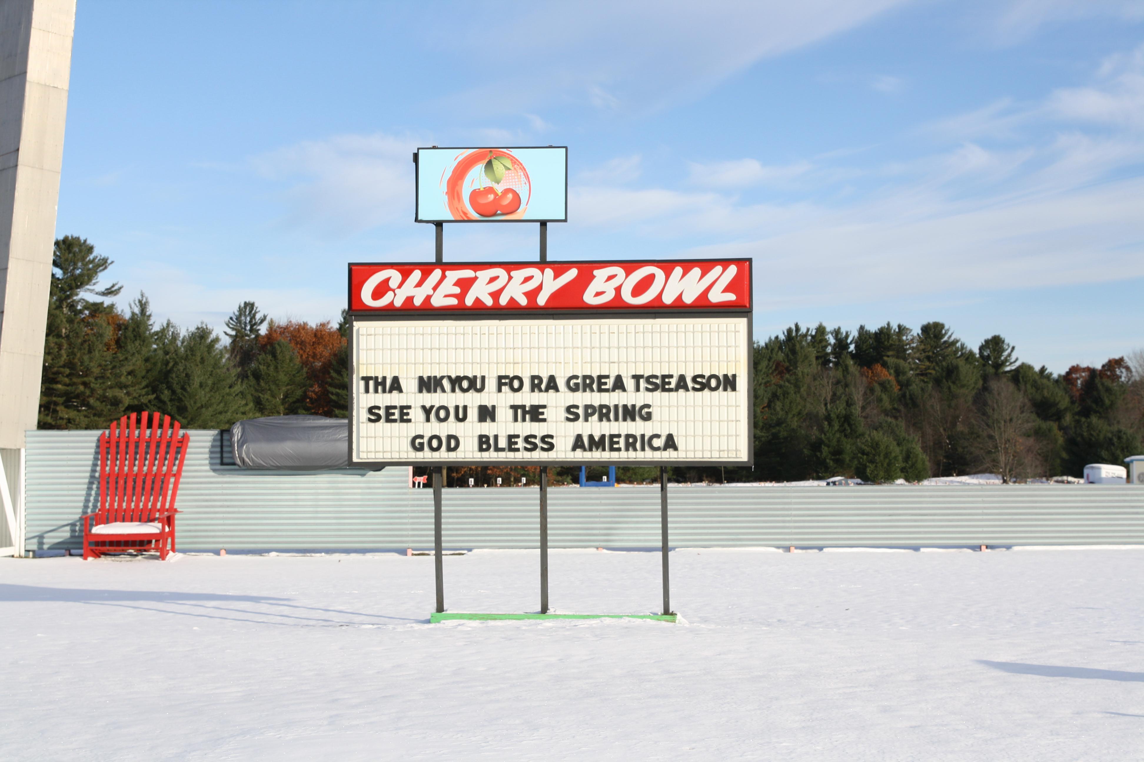 Lake Michigan Cherry Bowl