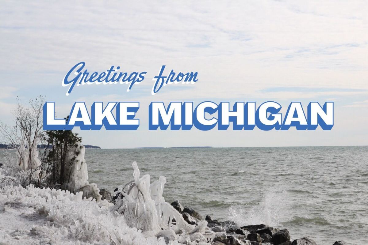What would drive a man to drive 1,000 miles around a Great Lake long after summer's end?