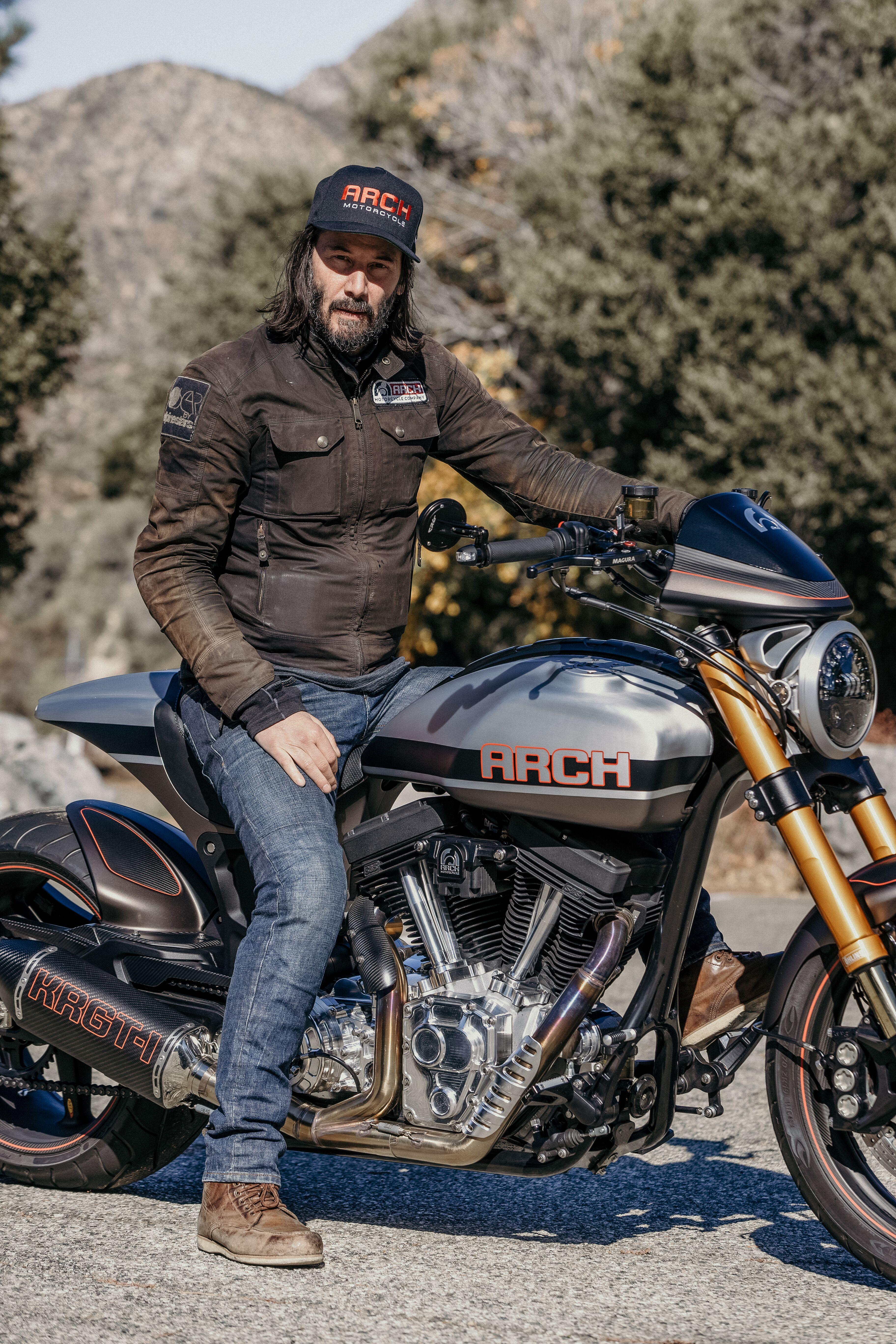 Keanu Reeves motorcycle bike