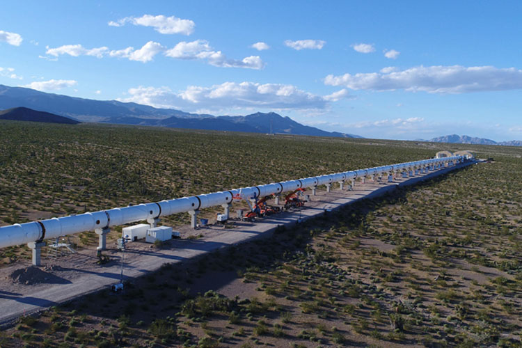 virgin hyperloop one development