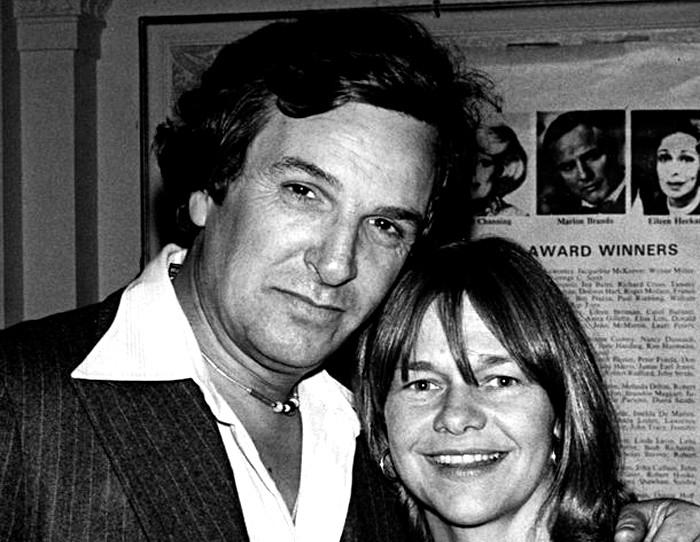 Danny Aiello and Estelle Parsons