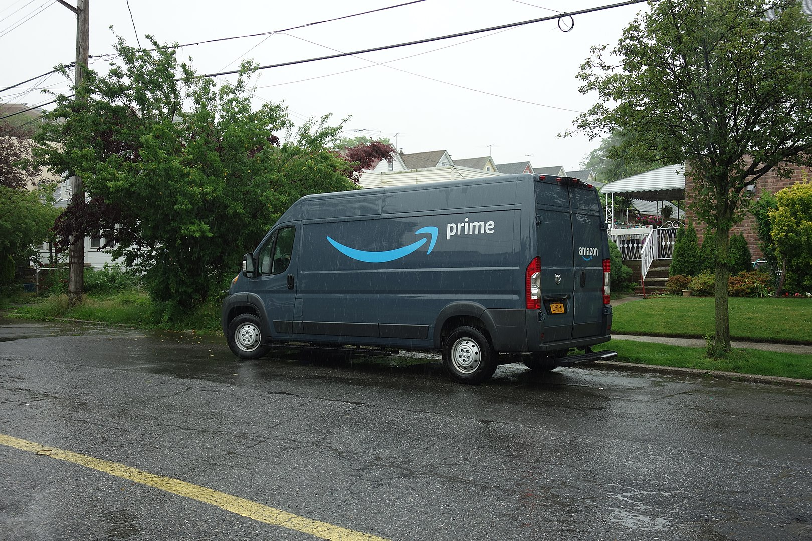 Amazon van