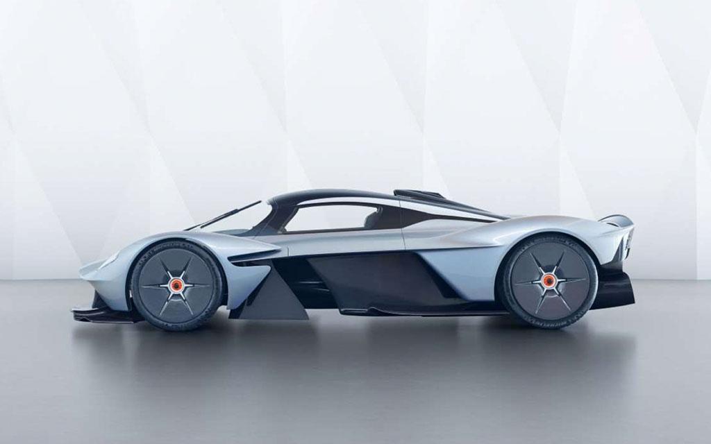 asston martin valkyrie hypercar concept