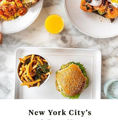 Best New Restaurants in New York CIty