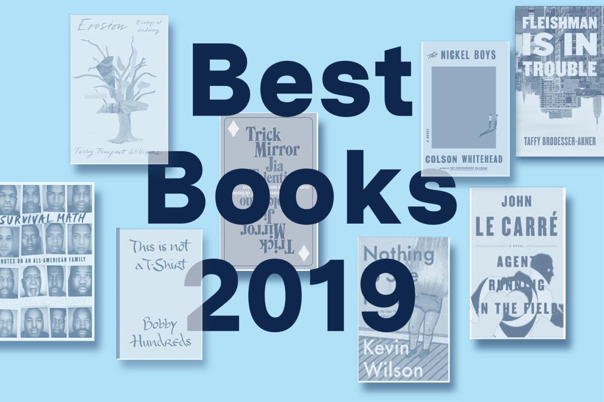 Colson Whitehead, Zadie Smith, Jami Attenberg, Casey Cep, nonfiction, fiction
