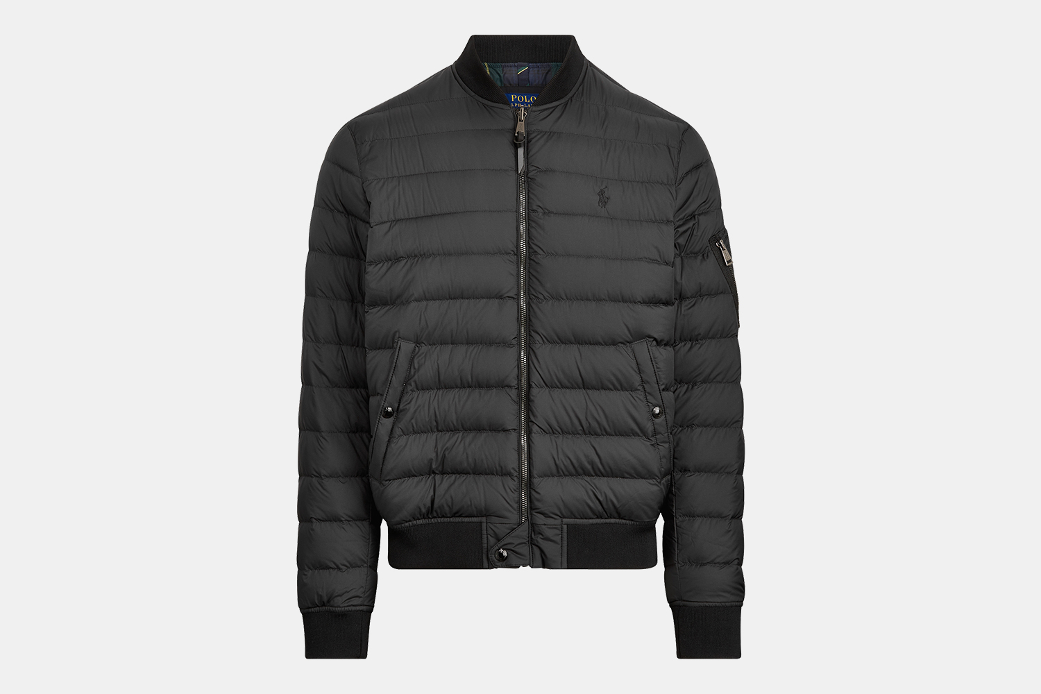 Ralph Lauren Men's Packable Down Bomber Jacket