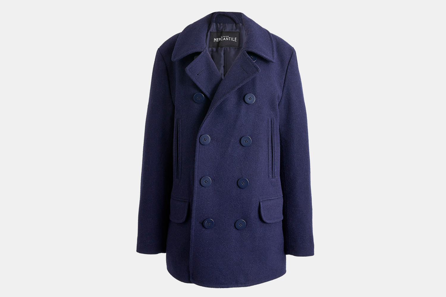 J.Crew Factory Men's Classic Peacoat Sale