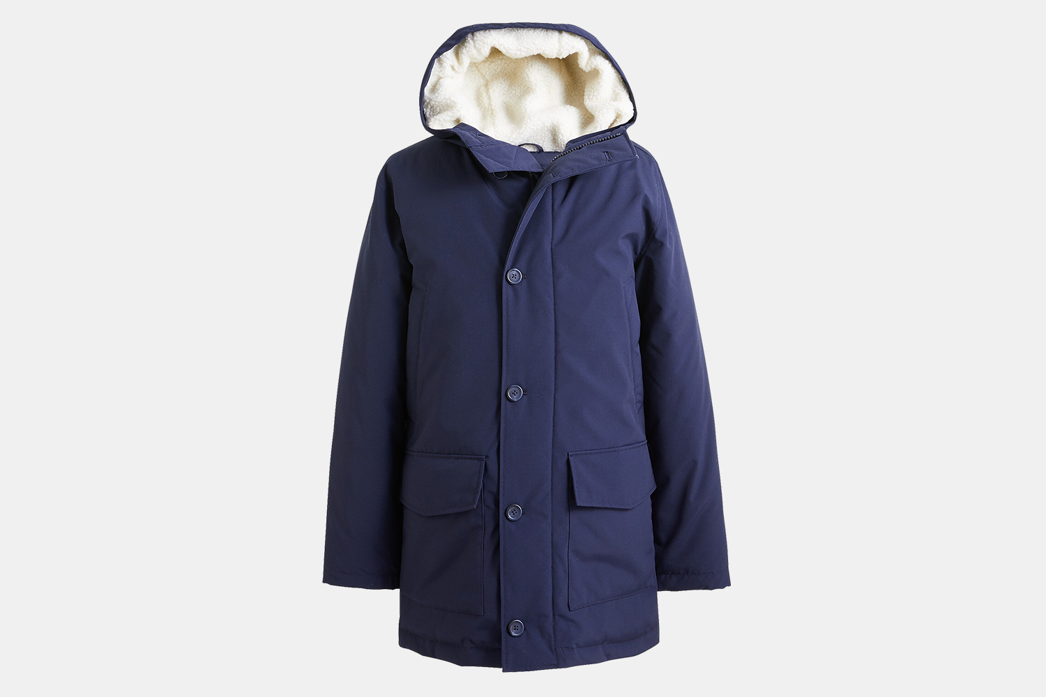J.Crew Factory Men's Hooded Parka Discount