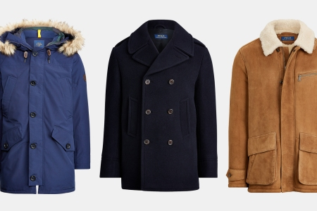 Ralph Lauren men's outerwear: jackets, peacoats and car coats