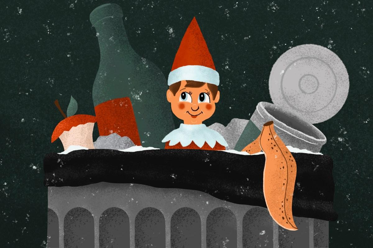 Cool Dad Elf on the Shelf