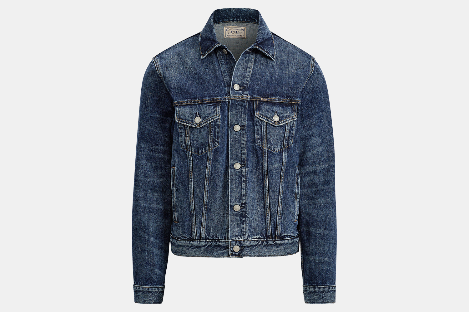 Ralph Lauren Men's Faded Denim Trucker Jacket