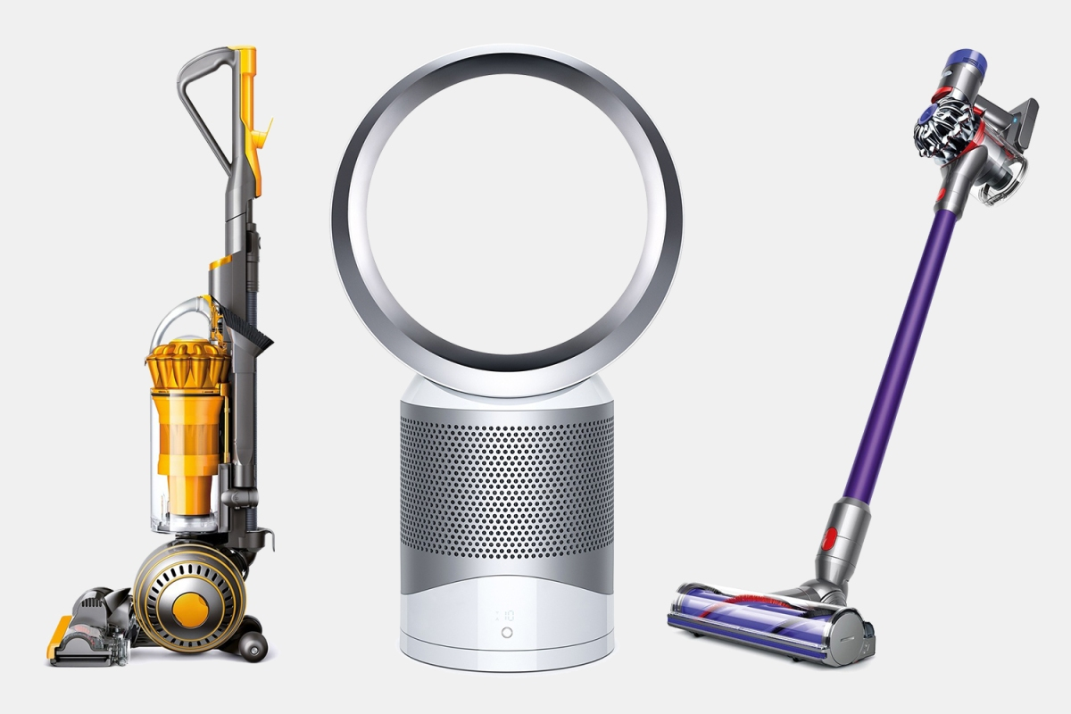 Dyson vacuums and fans