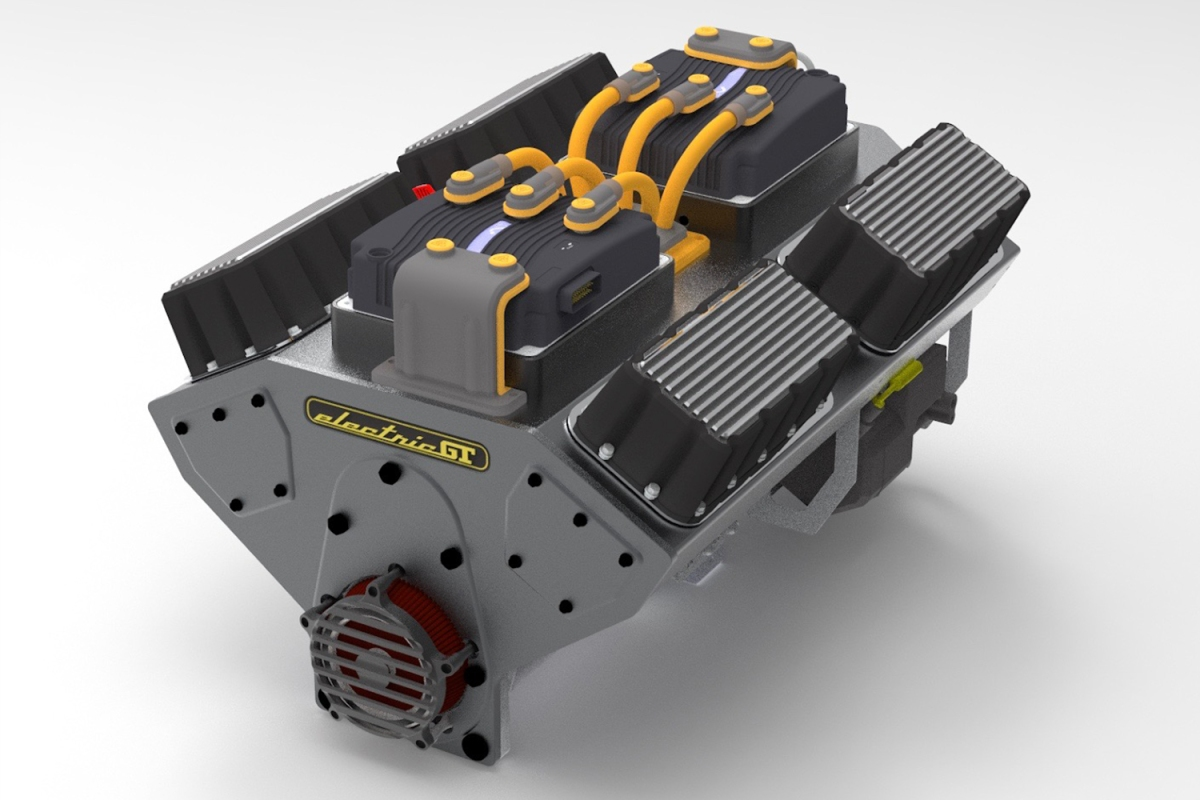 Electric GT EV crate motor conversion