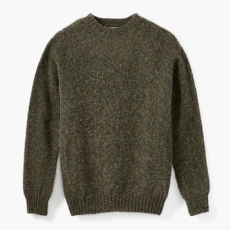 Flint and Tinder Shaggy Scottish Sweater