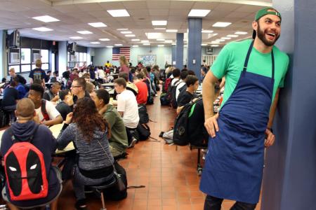 Chef Dan Giusti Brings Fine Food to School Cafeterias