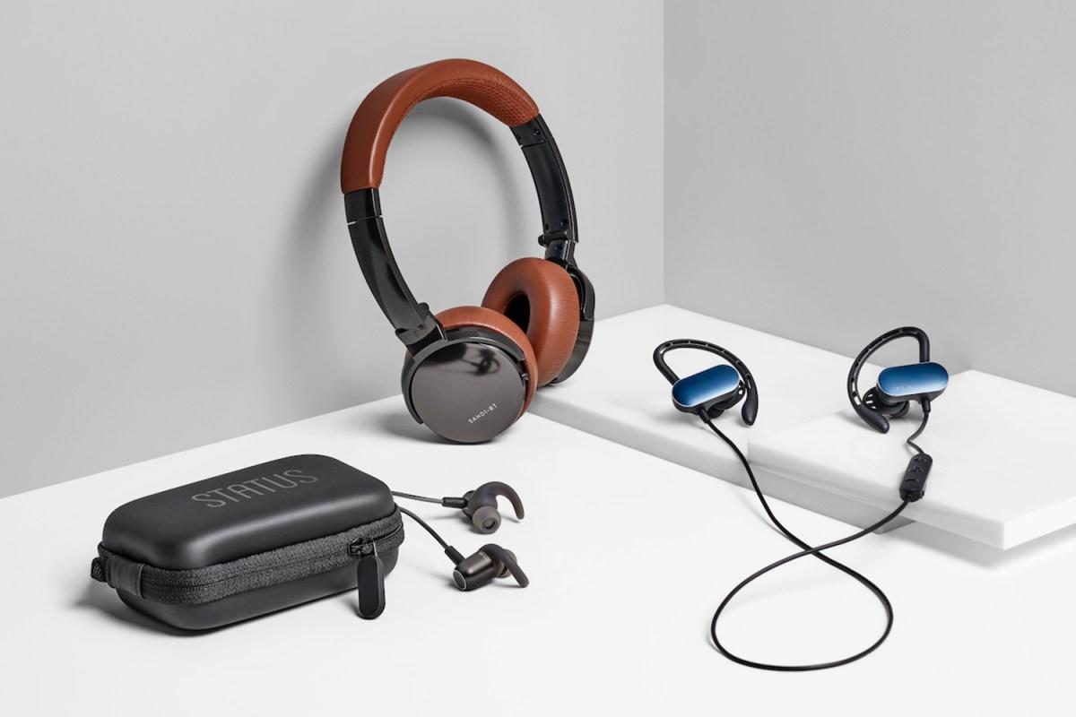 Status on-ear headphones, earbuds and in-ear headphones