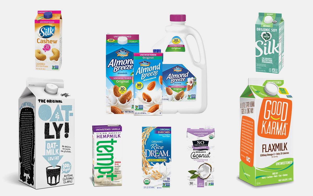 The Healthiest Alternative Milks