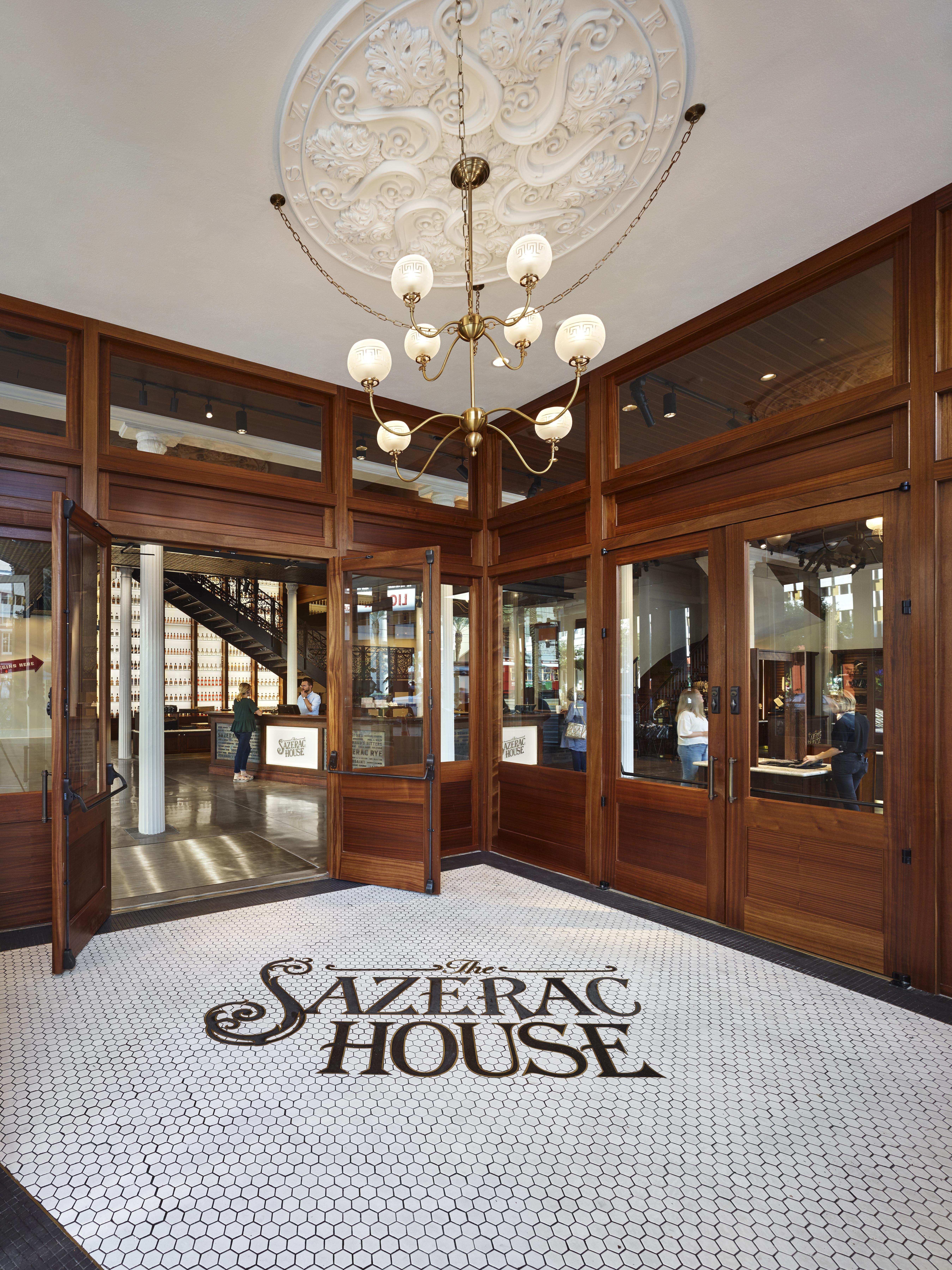 sazerac house lobby entry