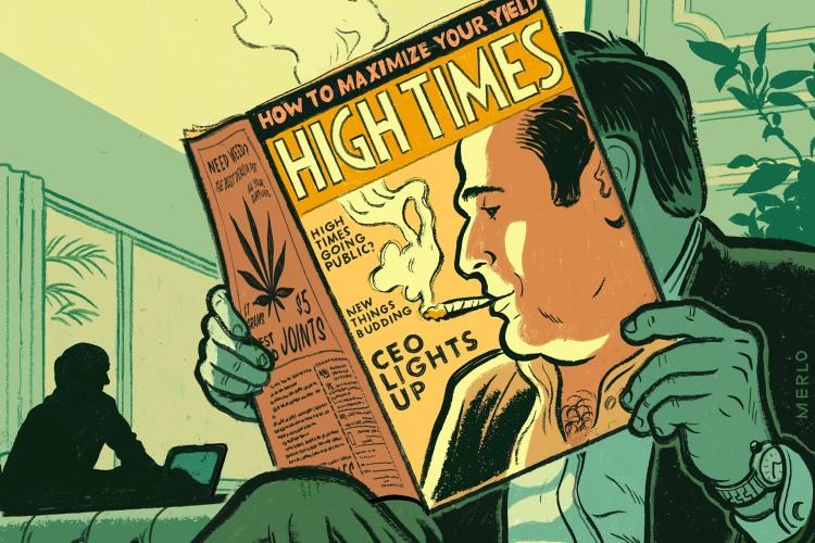 Adam Levin CEO high times