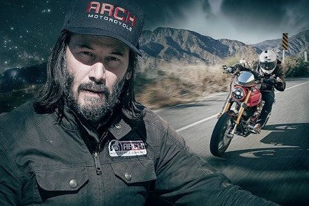Keanu Reeves Arch Motorcycle Company