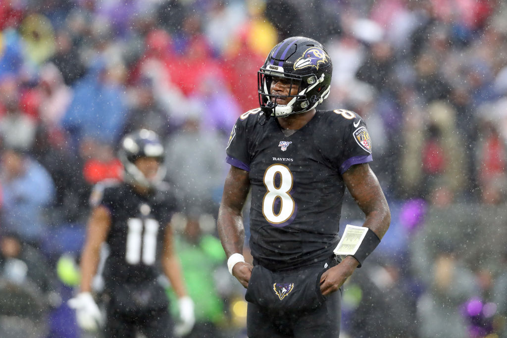 49ers Broadcaster Suspended for Remark About Lamar Jackson