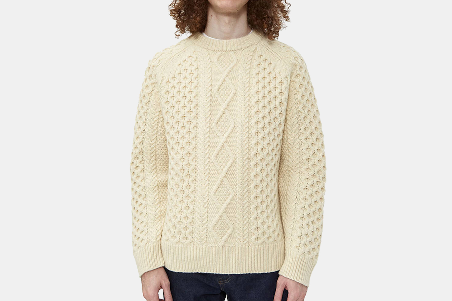 Levi's Vintage Clothing Aran Knit Sweater