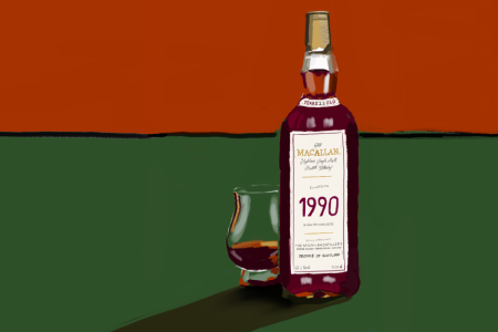 Macallan Fine & Rare 1990 whisky