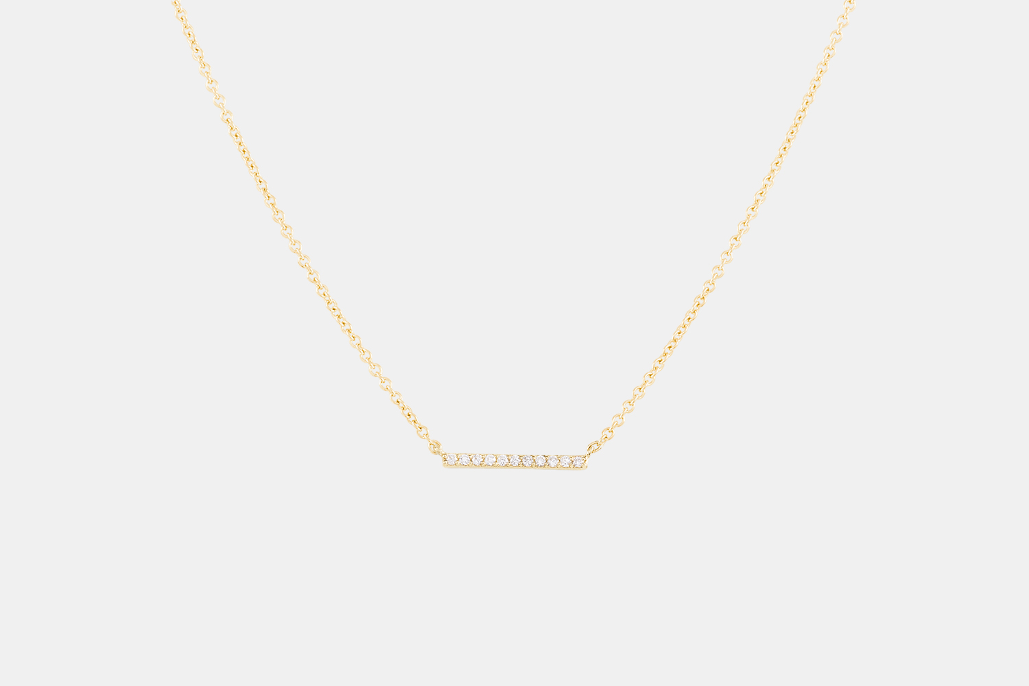 This 'Diamonds Line' necklace from Mejuri is a no-brainer