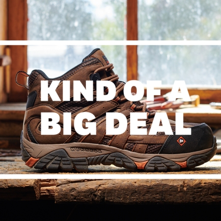 Merrell Cyber Week Boot Sale