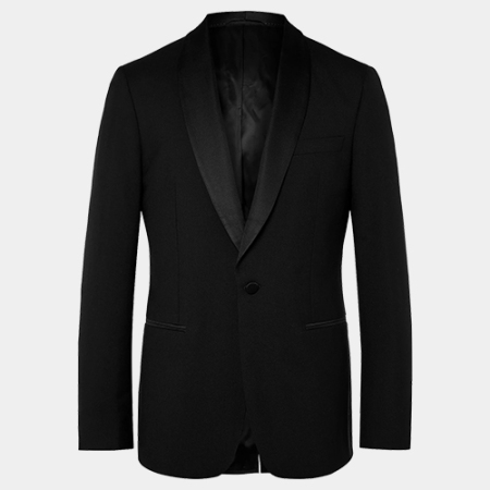 Mr P. Virgin Wool Tuxedo Jacket