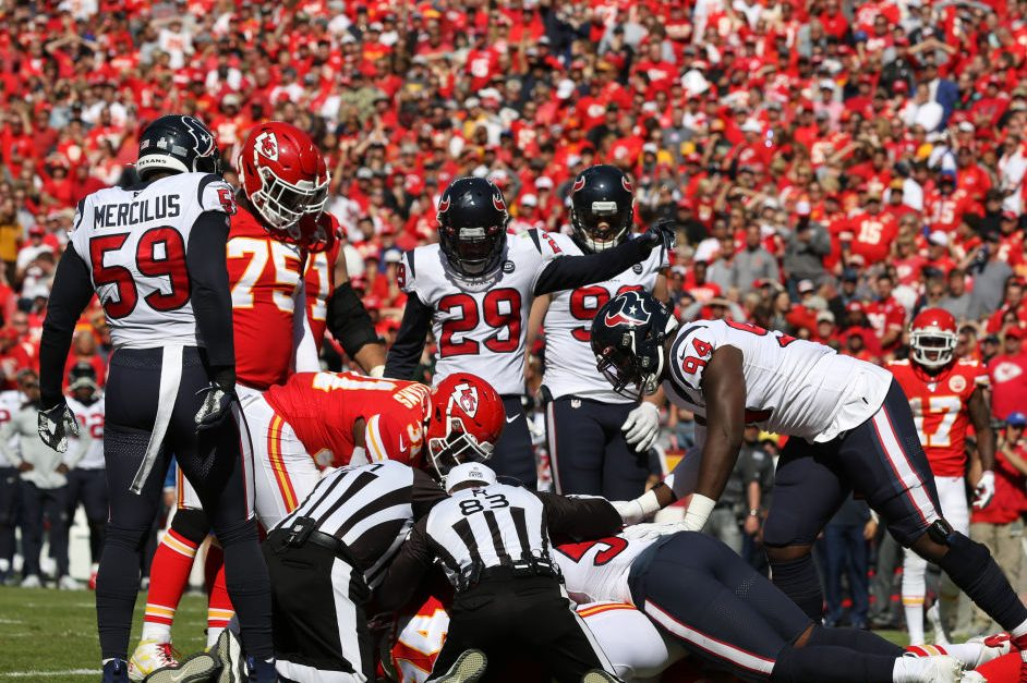What Happens at the Bottom of an NFL Fumble Pile?