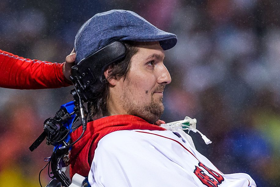 Image result for Pete Frates, baseball player and inspiration for ice bucket challenge