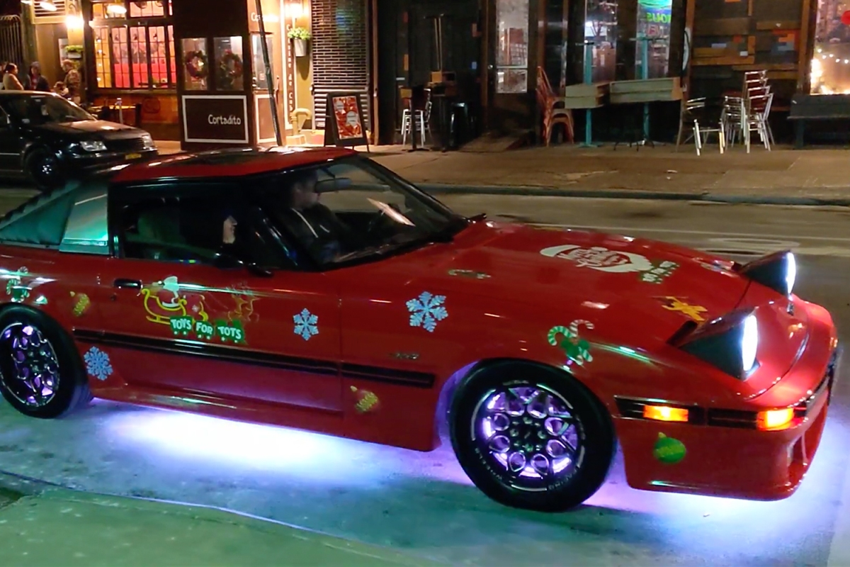In the Air Tonight Phil Collins Mazda RX-7