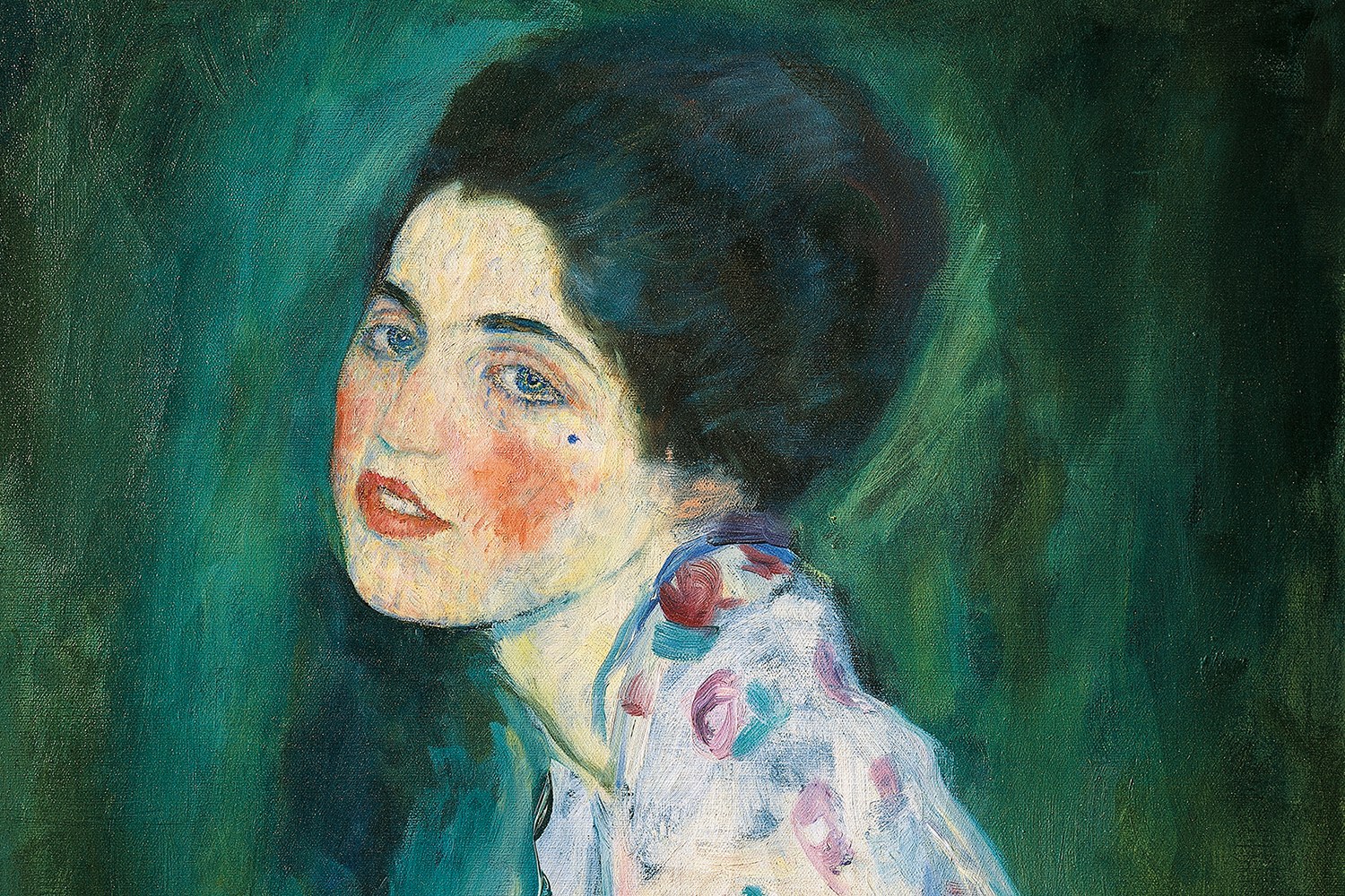 Klimt's Portrait of a Lady