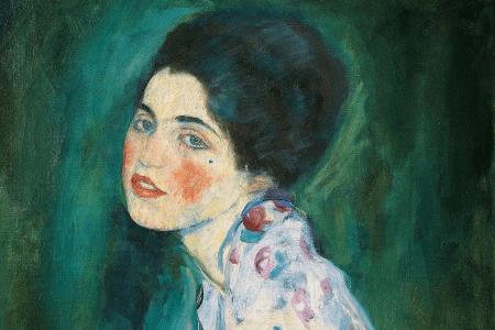 Klimt's Portrait of a Lady