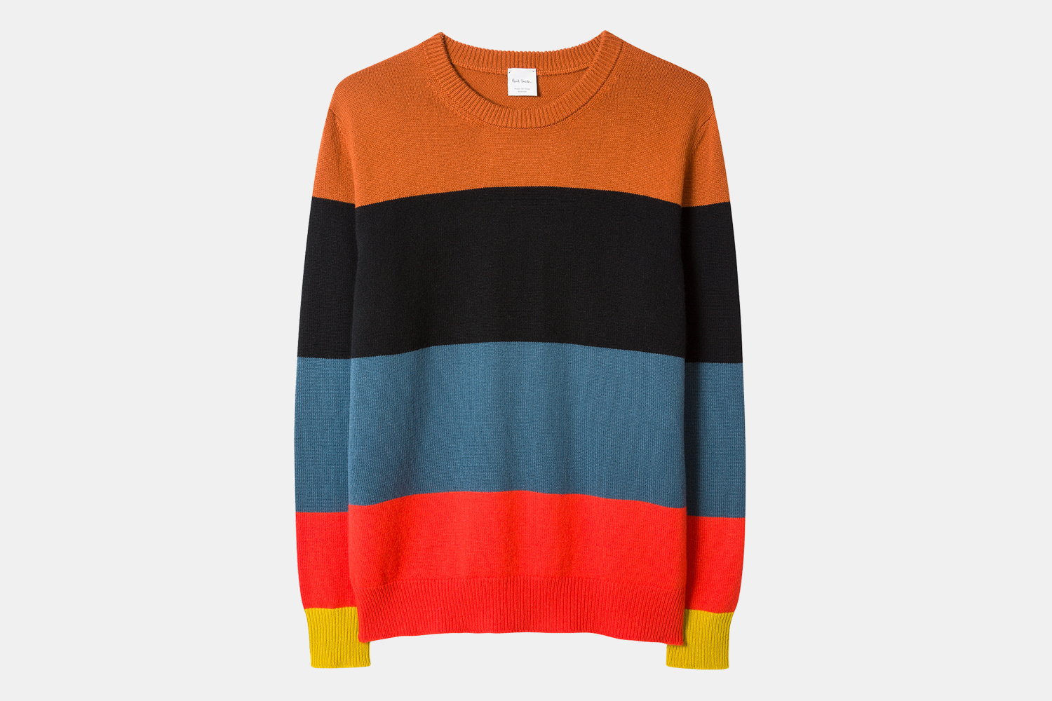 "Paul Smith Men's ""Artist Stripe"" Cashmere Sweater Sale"