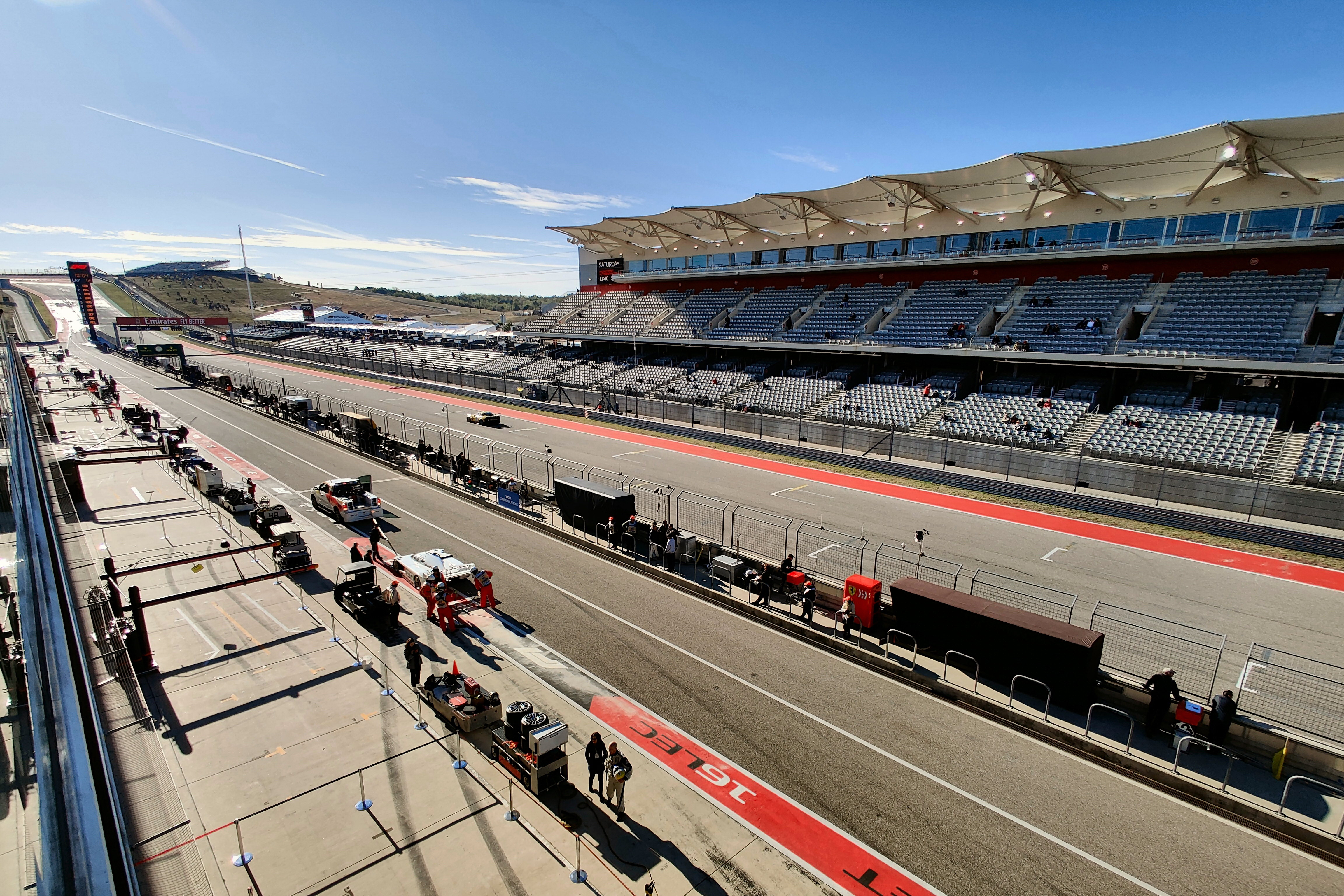 circuit of the americas austin homestretch