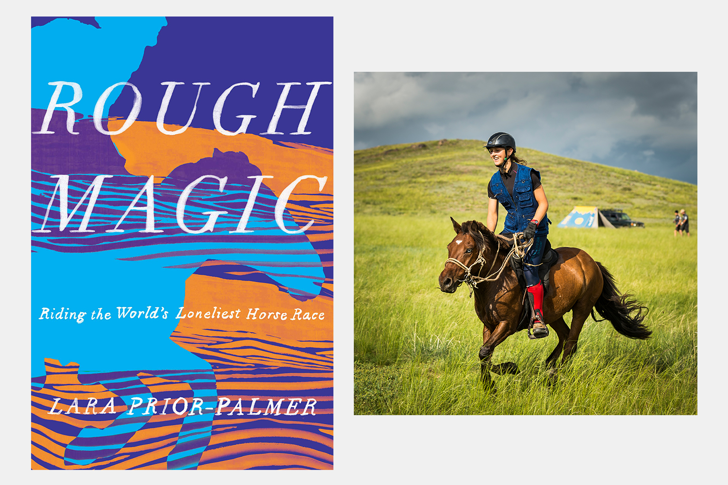 Rough Magic Lara Prior-Palmer horse race book