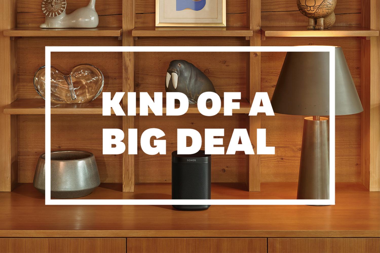 Sonos One home speaker system