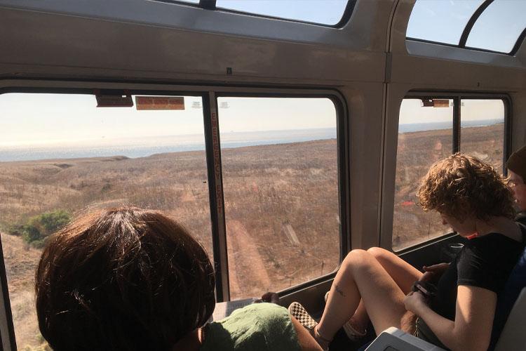 surfliner train california pacific coast