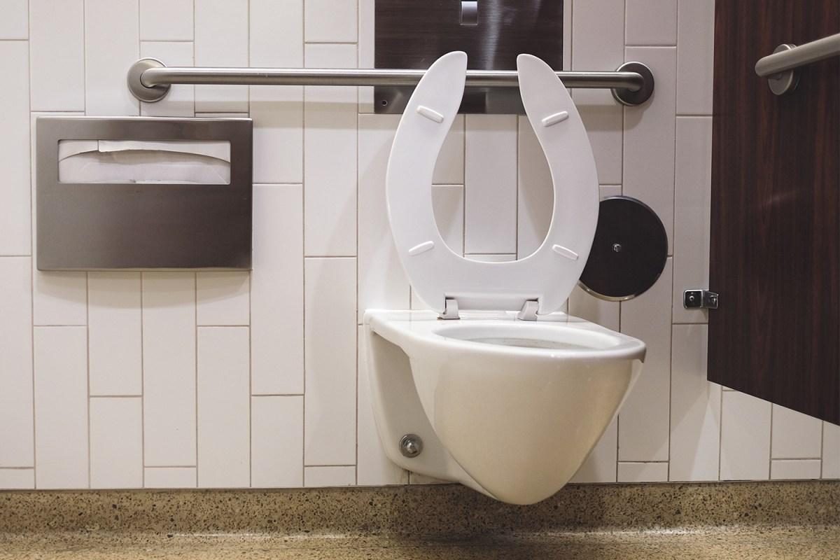 Toilet restroom stall